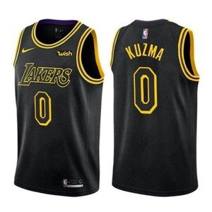 Los Angeles Lakers Kyle Kuzma Black Jersey